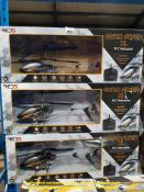 Combined RRP £150 - 3 X GYRO FLYER XL R/C HELICOPTER