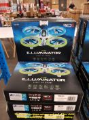 Combined RRP £300 - 10 X THE LAMINATOR LIGHT UP DRONE