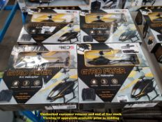 Combined RRP £200 - 4 X GYRO FLYER R/C/ HELICOPTER