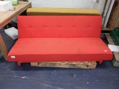 Pallet To Contain 2 MADE.COM Click Clack Folding Sofa Beds (IN NEED OF ATTENTION)