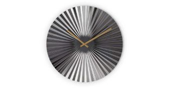 RRP £39 Bushwick Large Statement Fan Wall Clock