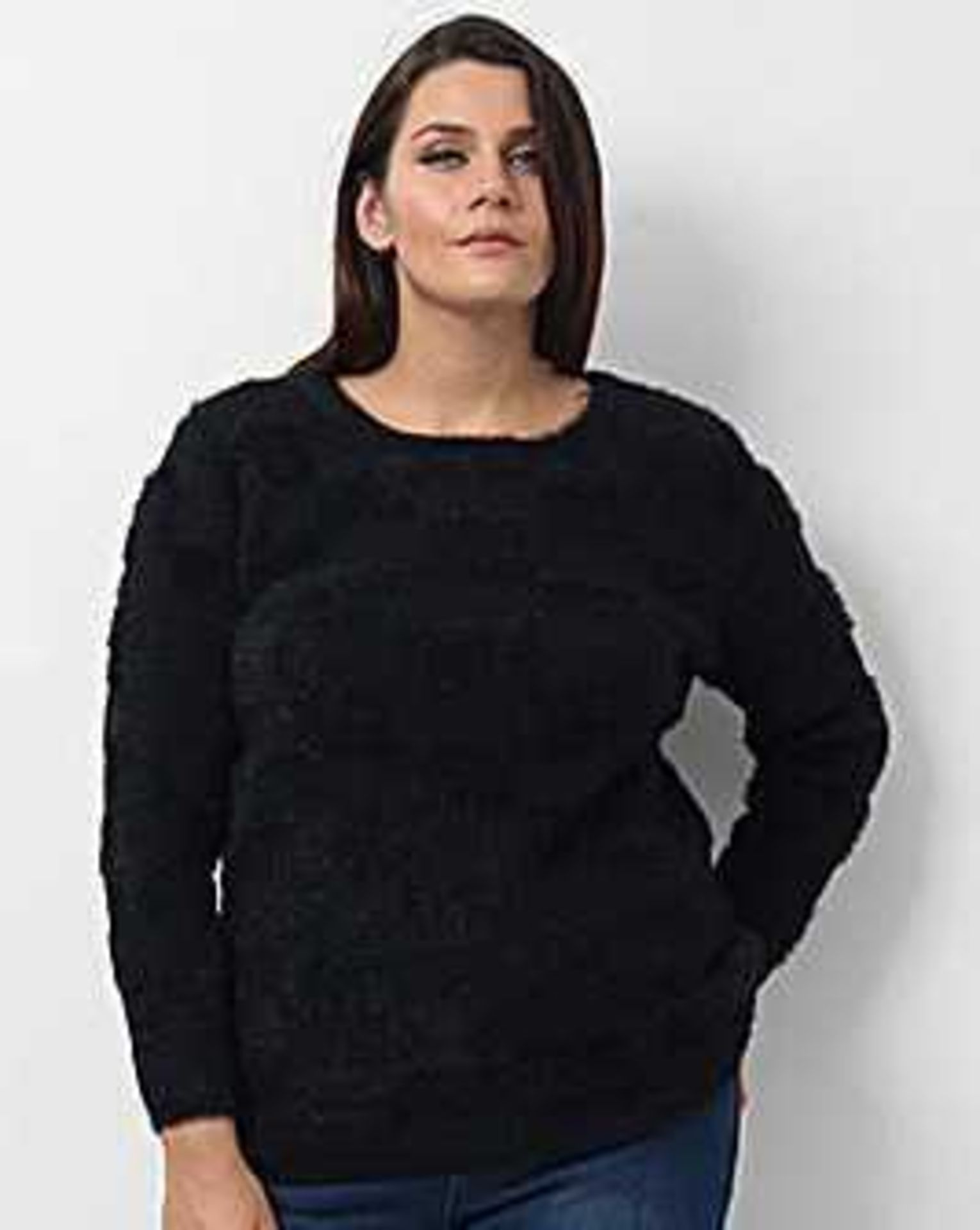 Rrp £210 Lot To Contain 7 Brand New Tagged/Bagged Women'S Size 16/18 Koko Check Jumpers. Sourced