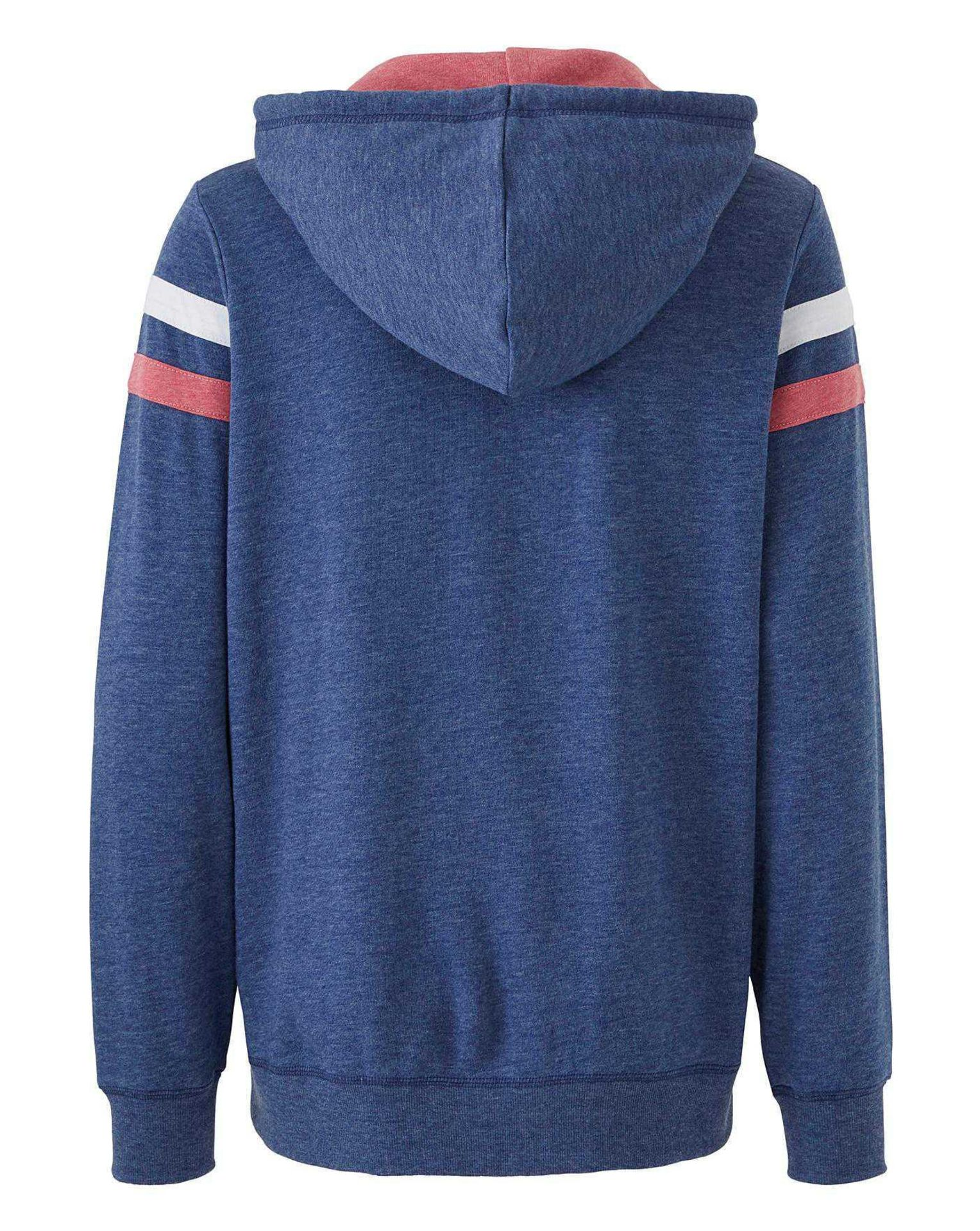 Rrp £625 Lot To Contain 25 Brand New Bagged Women'S Size 12 Label Be Zip Front Hoodies. Sourced From - Image 2 of 3