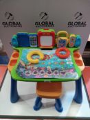 RRP £65 Unboxed Vtech Touch And Learn Activity Desk