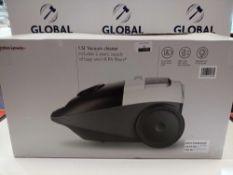 RRP £60 Boxed John Lewis 1.5L Vacuum Cleaner