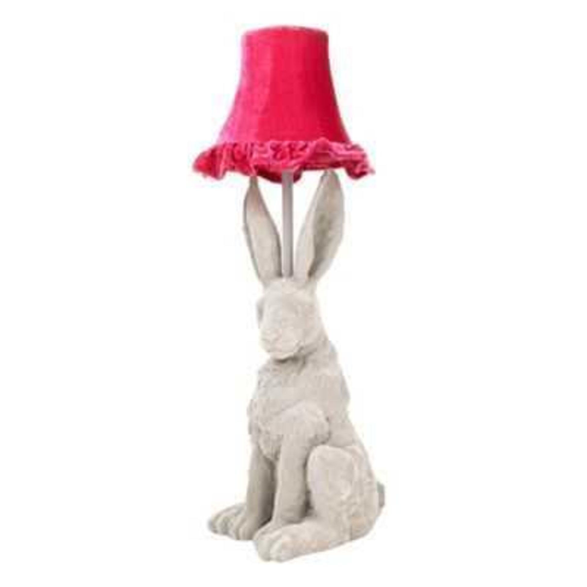 Lot 786 - RRP £95 Boxed Hare Table Light (Untested)