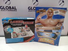 RRP £25 To £35 Each Children's Size To Include The Original Stretch Armstrong Laser Maze Dinosaurs A