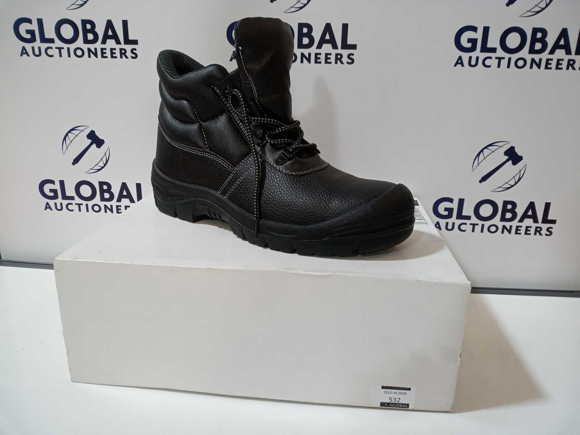 Lot 459 - RRP £50 Boxed Men's Size 10 Steel Toe Cap Work Boots