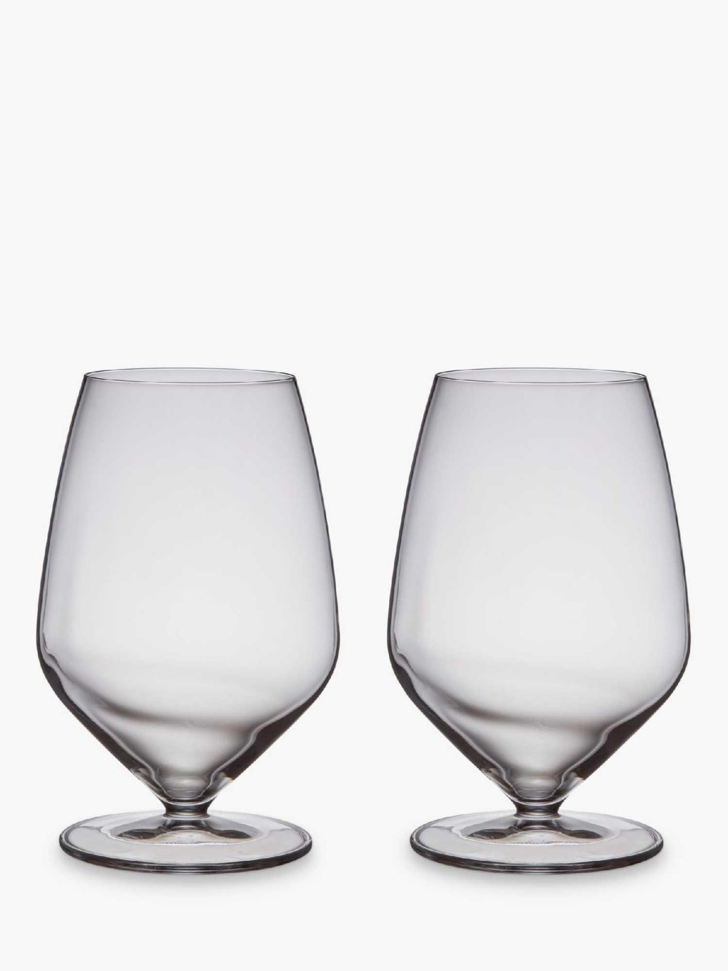 Lot 271 - RRP £25 Each John Lewis Connoisseur For Beer 2 X 700Ml Crystal Beer Glasses