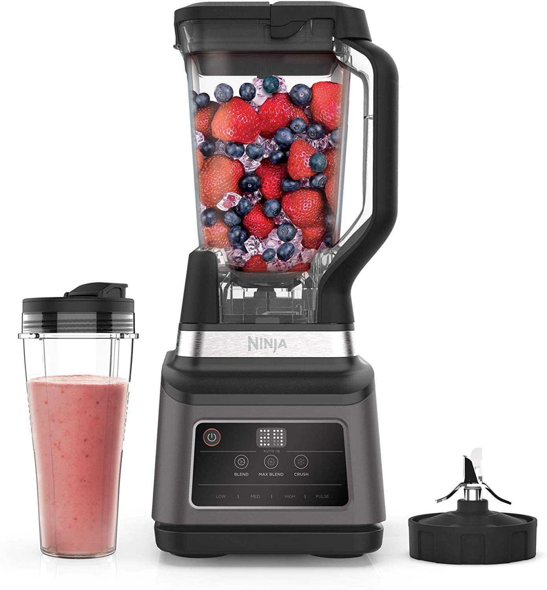 Lot 134 - RRP £130 Boxed Ninja 2 In 1 Blender