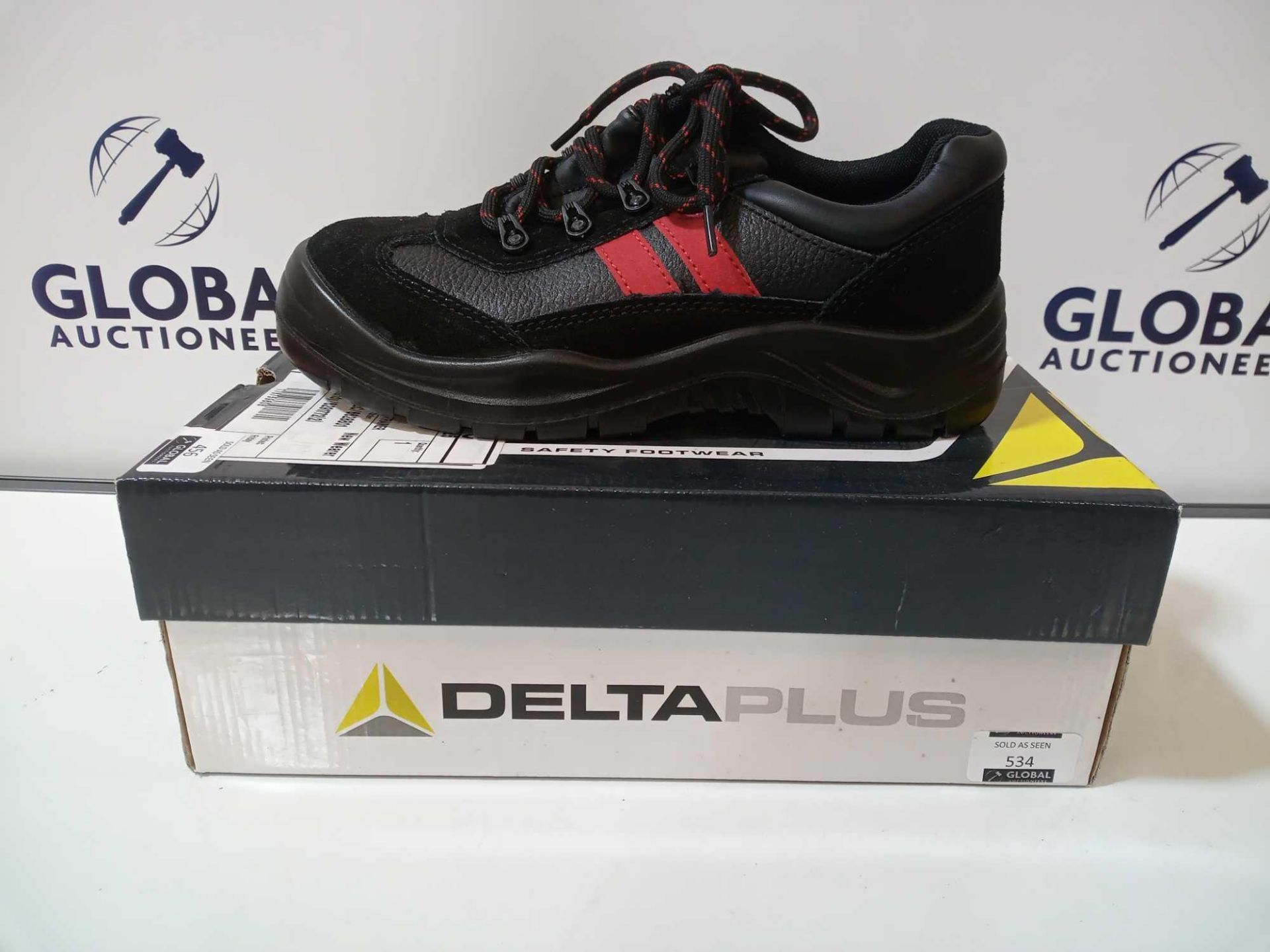 Lot 456 - RRP £40 Boxed Delta Women'S Steel Top Cap Work Boots