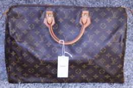 RRP £1,160.00 Made From Classic Monogram Canvas, The Speedy 40 Is A Stylish Handbag For Both