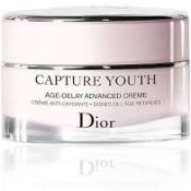 RRP £75 Dior Capture Youth Afe-Delay Advanced Crème (Ex Display) (Appraisals Available Upon Request)