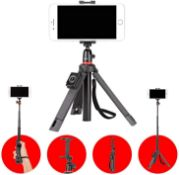 RRP £120 Lot To Contain 2 Boxed Joby Telepod Mobile Iphone Tripods