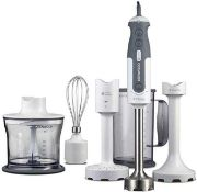 Combined RRP £200 Assorted Kitchen Items To Contain Boxed Morphy Richards Total Control Folding Stan
