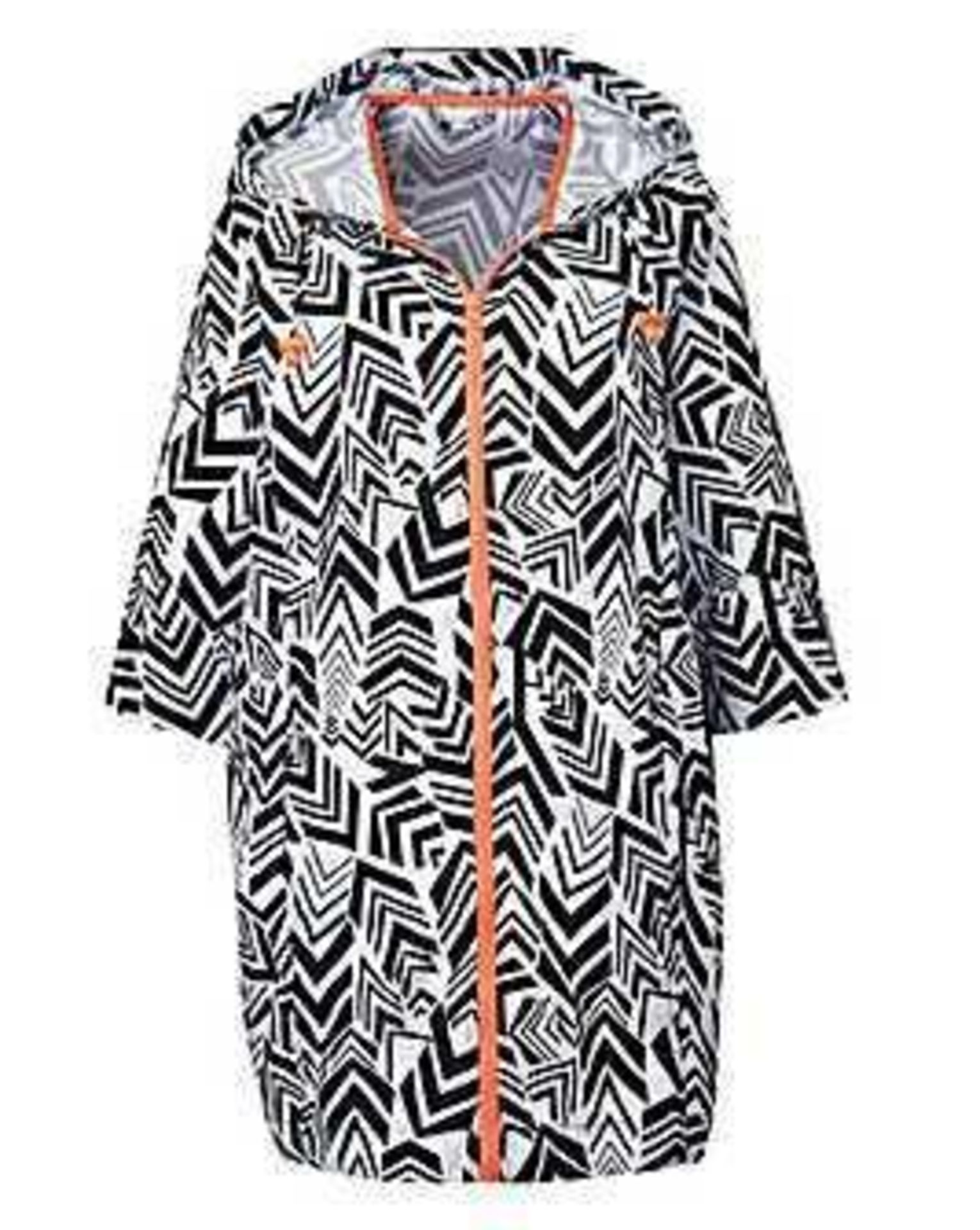 RRP £750 Lot To Contain 30 Brand New Bagged/Tagged Women'S Size 12/14 Black And White Geo Printed