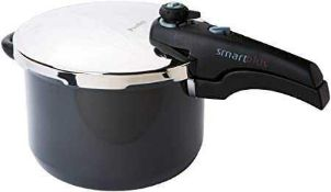 RRP £75 Boxed Prestige Lock-In The Taste 6L Smartplus Pressure Cooker With Steamer