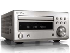 RRP £380 Boxed Denon Cd Receiver With High Output Power Dab Digital Radio And Fm