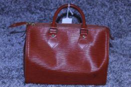 RRP £1,000 Louis Vuitton Speedy 25 Handbag, Tan Epi Calf Leather 27X19X15Cm (Production Code Vi1922)