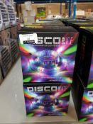 16 X DISCO 360 ICE SOUND RESPONSIVE LED LIGHTSHOW