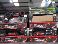 COMBINED RRP £ 150 – 6 X RED5 X-KNIGHT EXTREME SPEED BUGGY (1 X CAR ONLY)