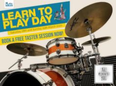 1Hour Professional Drum Lesson at GrooveHub Manchester