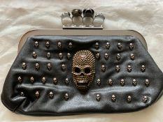 Alexander McQueen Style clutch bag