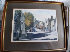 Print of a painting by a well known Saddleworth artist. These prints usually retail over £50 a great