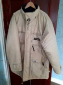 Never worn South Pole heavy winter coat, the perfect attire for the British Winter and the more