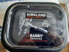 New Kirkland Rabbit Corkscrew Donated by Chris Wildman