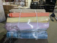1 X Pallet Of Assorted Swoon Easy Velvet - Approx 170 Metres @ £14.99 Metre - Toal Rrp , £2250 , &
