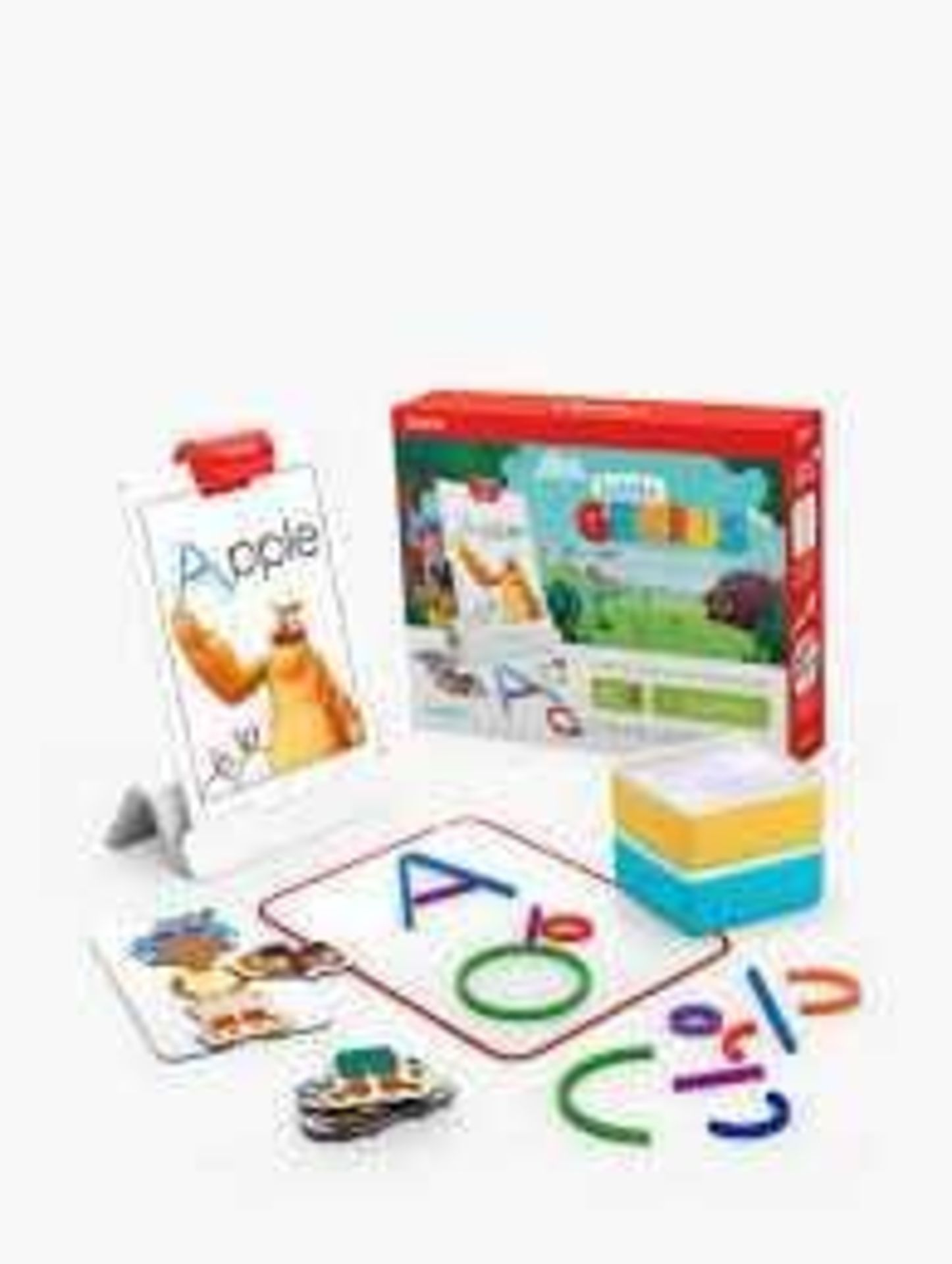 RRP £180 Lot To Contain 2 Boxed Osmo Little Genius Starter Kits