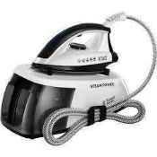 RRP £120 Boxed Russell Hobbs Steam Power Steam Generator Iron