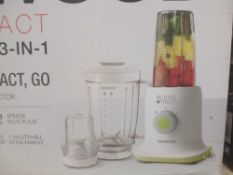 RRP £90 Lot To Contain 2 Box Kenwood Blend Xtract 3 In 1 Nutritional Blenders