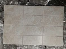 RRP £660 Pallet To Contain 66 Brand New Packs Of 15 Johnson's Shle1F Shale 2 Way Scored Tiles (300X2