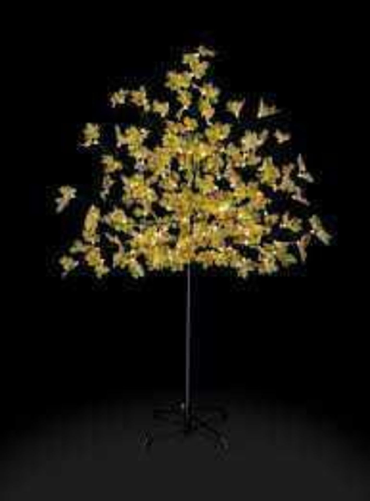 RRP £50 Boxed Premier 1.8M Led Maple Leaf Tree With Warm White Led Lights - Image 2 of 2