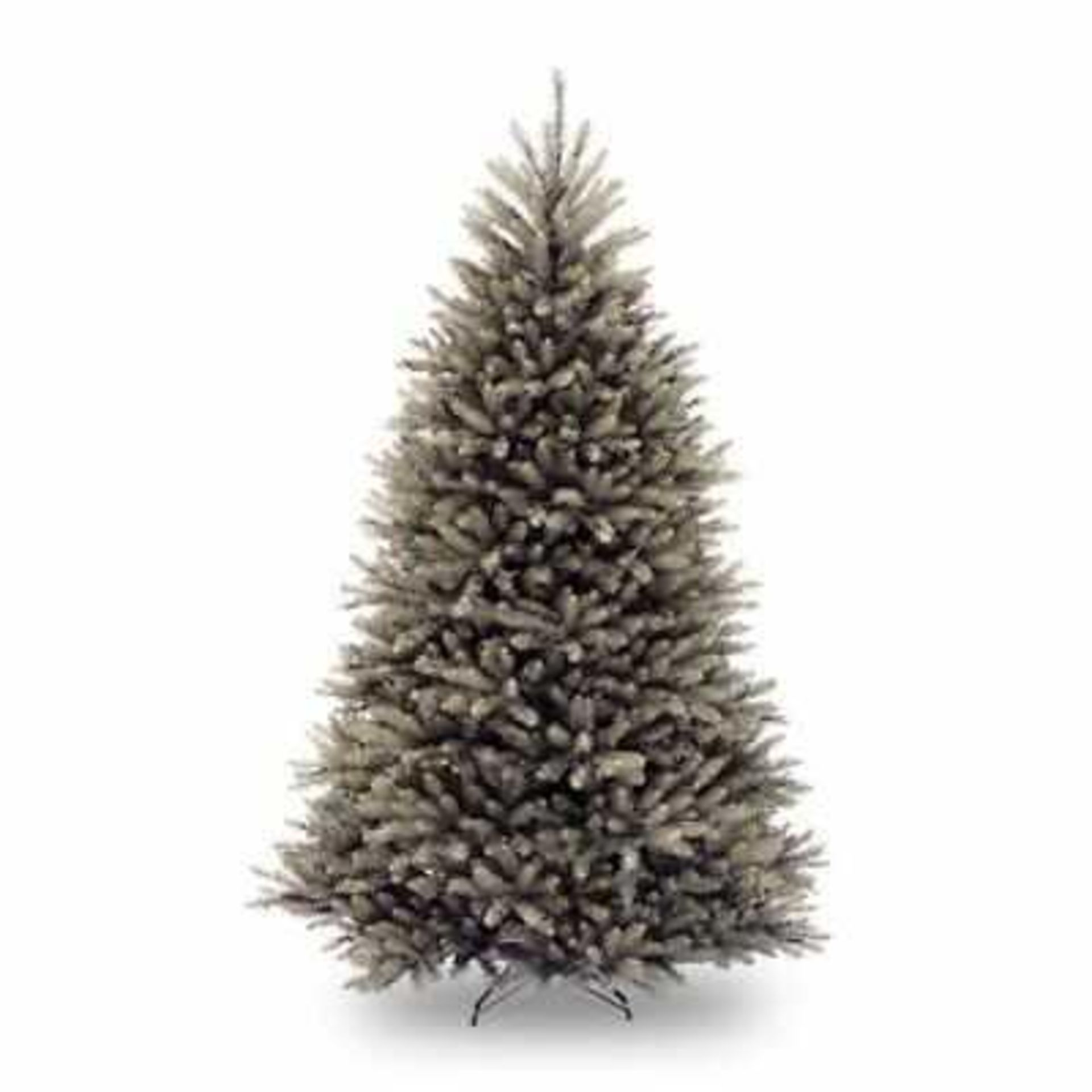 RRP £110 Boxed Dunhill 6Ft Silver Artificial Christmas Tree