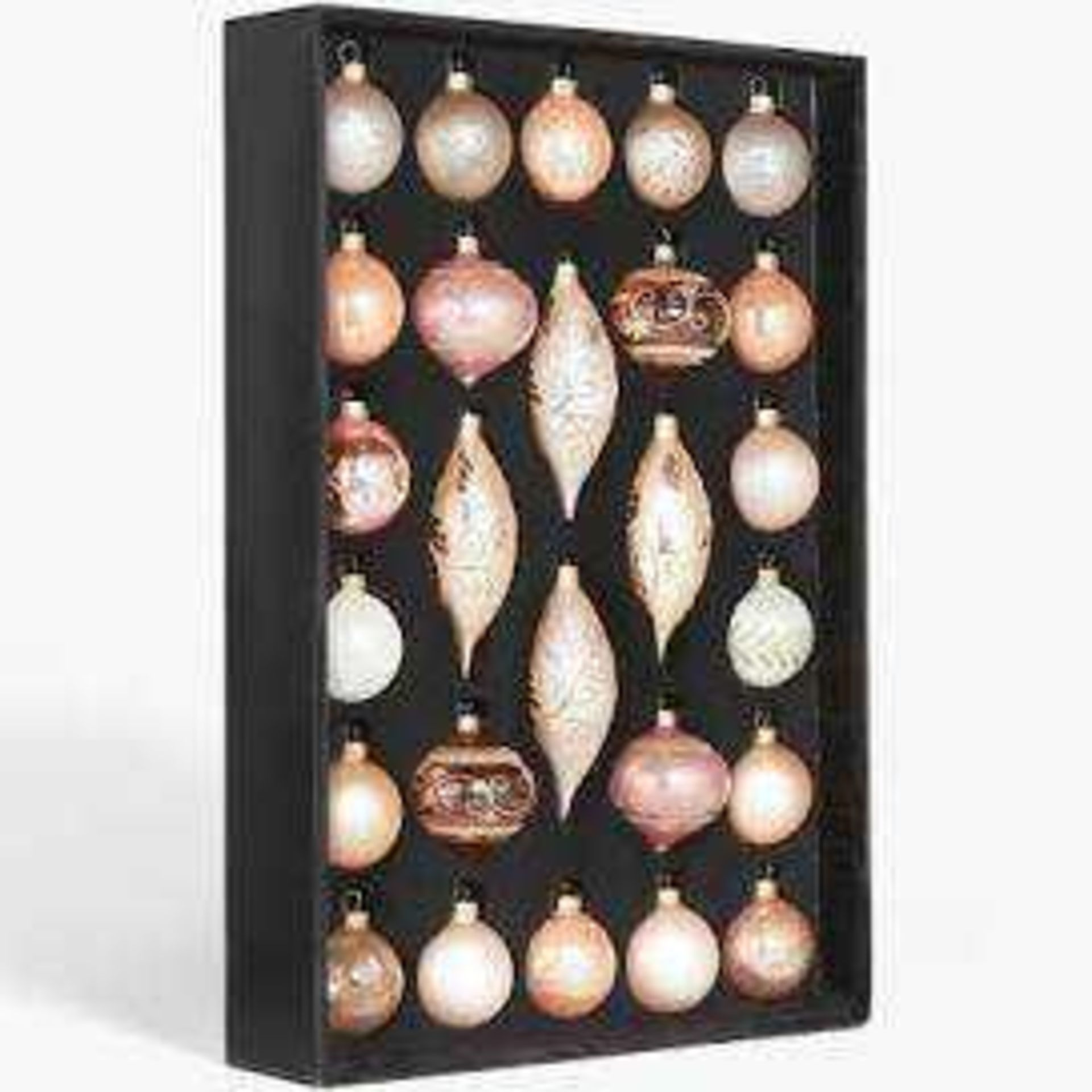 RRP £50 Boxed Renissance Baubles Set