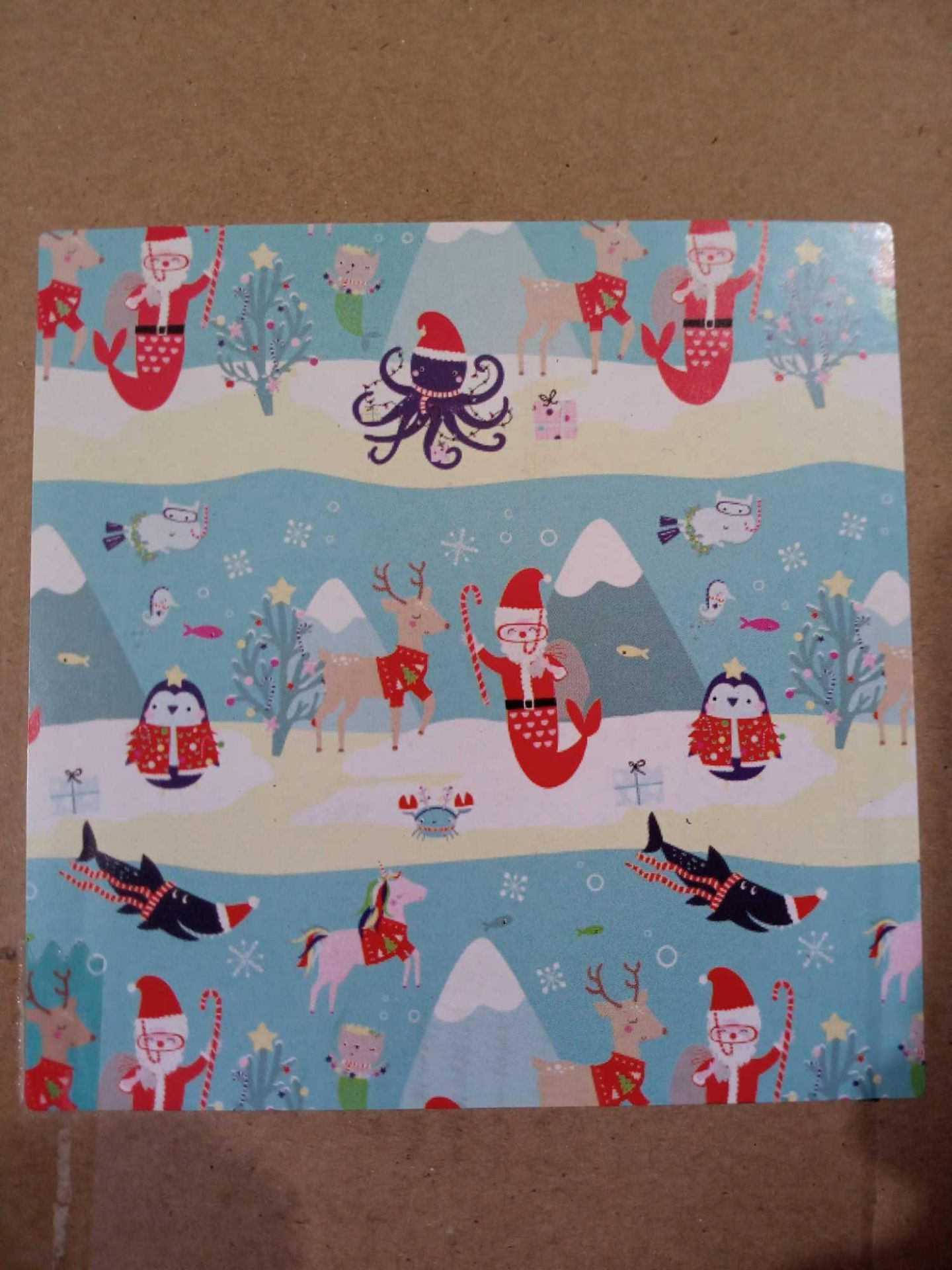 RRP £25 Box To Contain 25 Rolls Of 12M Kids Character Design Roll Wrap