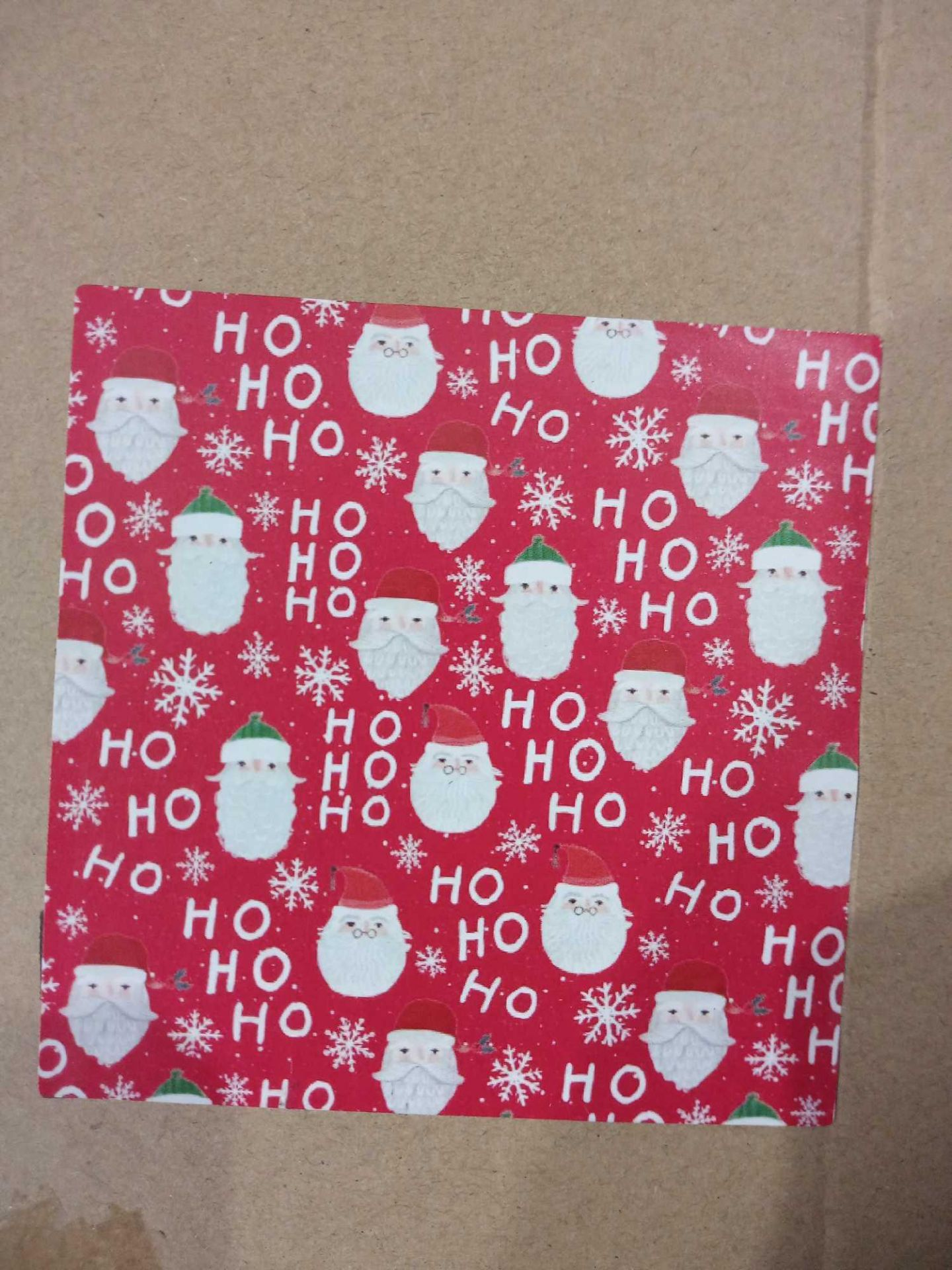 RRP £36 Box To Contain 36 Rolls Of 4M Santa Ho Ho Roll Wrap