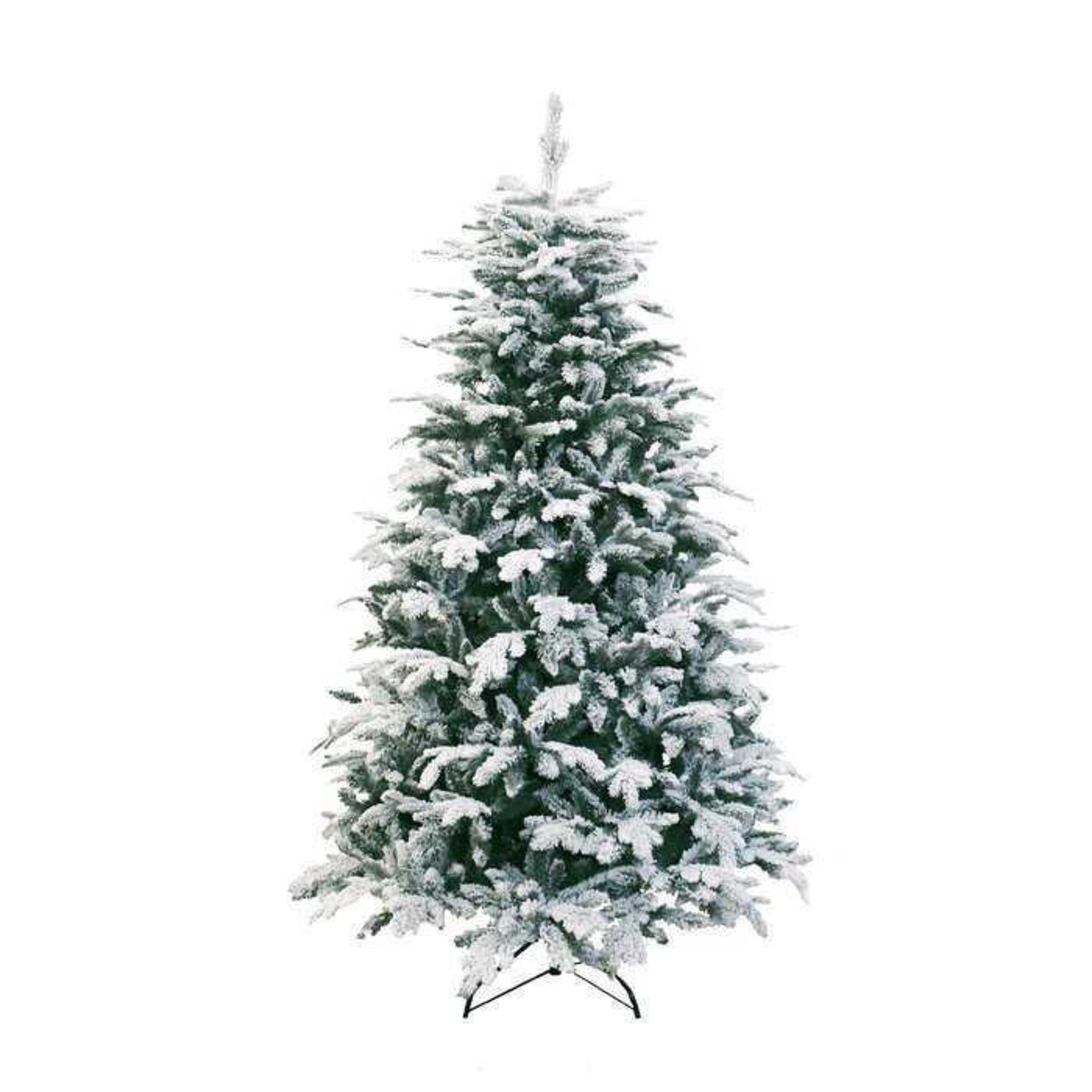RRP £240 7Ft H Nordic Oslo Green Artificial Christmas Tree With Stand