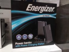 RRP 170 Boxed Energizer Ultimate Power Bank With Charging Station Ps2000 (Appraisals Available