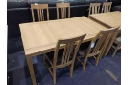 RRP 2000 Sourced From A High-End Furniture Store Sandringham 4 Seater Dining Table And Chairs (