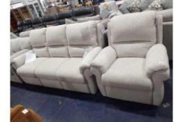 RRP 2250 Sourced From A High End Furniture Store Surrey Sofa Set To Include 3 Seater Sofa Set With