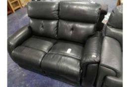 RRP 1850 Sourced From A High-End Furniture Store Turin 2 Seater Manual Reclining Sofa (Appraisals