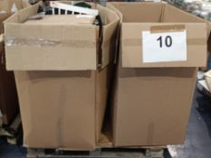 Pallet To Contain A Large Assortment Of Items To Include Skibz Bibs, Lamp Shades, Mini Sun Light