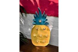 Pallet To Contain Approximately 200 Brand New Talking Tables 38Cm High Tropical Fiesta Pineapple