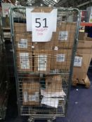 Cage To Contain A Large Assortment Of Items To Include Givenchy Luxury Gift Bags, Burberry Gift Boxe