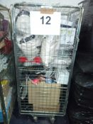 Cage To Contain A Large Assortment Of Items To Include Jasper Conran Glass Ware Sets, Luxury Gift