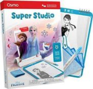 RRP £100 Lot To Contain 5 Boxed Osmo Super Studio Disney Frozen 2 Drawing And Skills Creativity Pack
